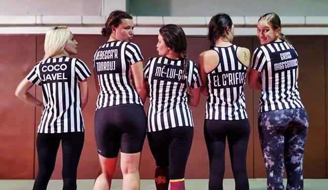 L'équipe des Referees